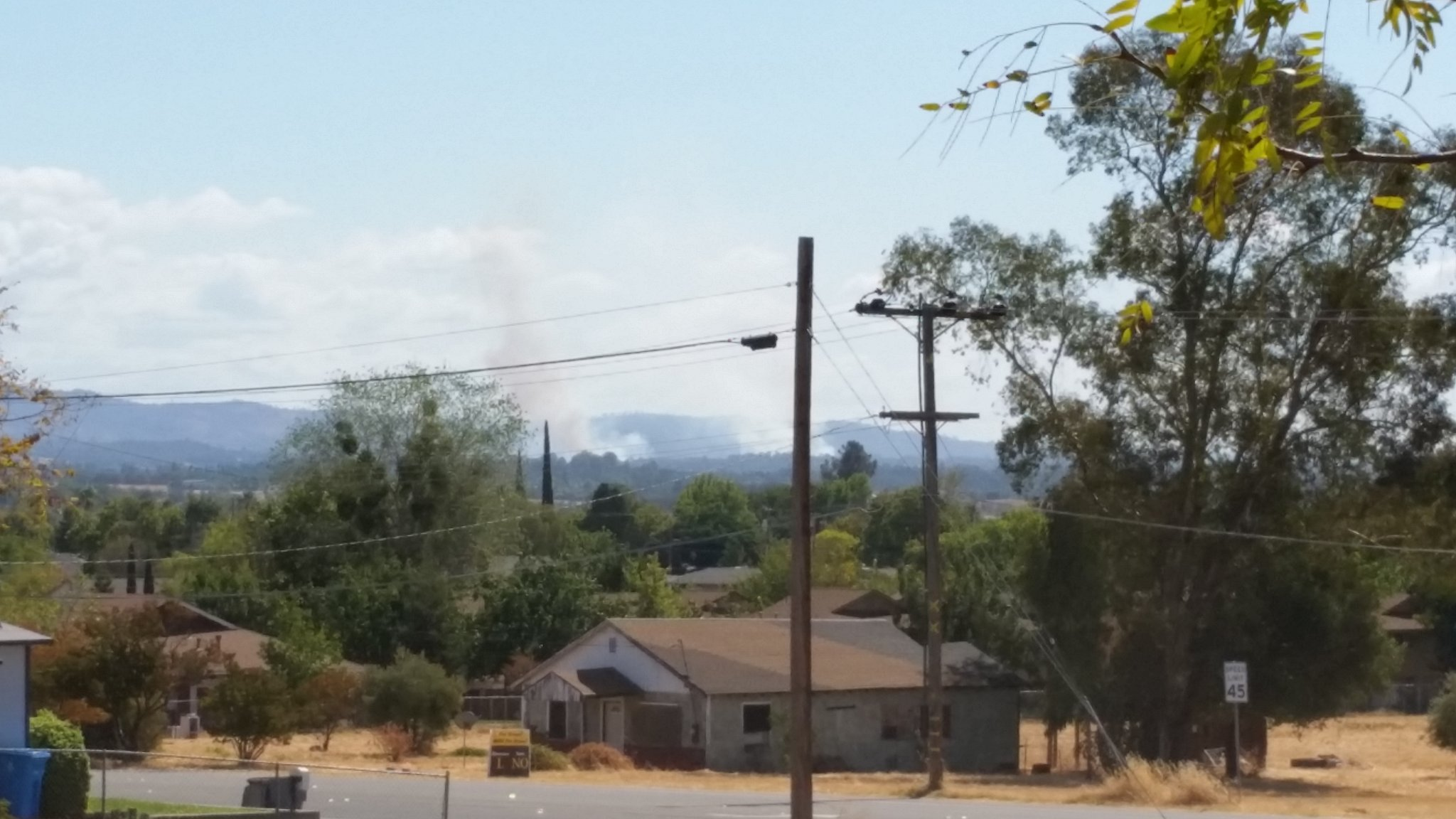Bangor, Butte County   YubaNet Fire News