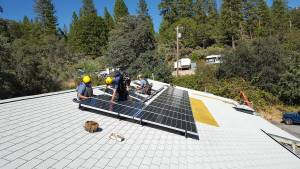 Golden Empire Grange new solar system was installed by California Solar with non-profit financing from RC Cubed. Visit California Solar at their Nevada County Fair booth, August 10-14, Nevada County Fairgrounds.