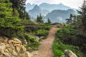 The PCT in the Alpine Lake Wilderness by Charlie Willard