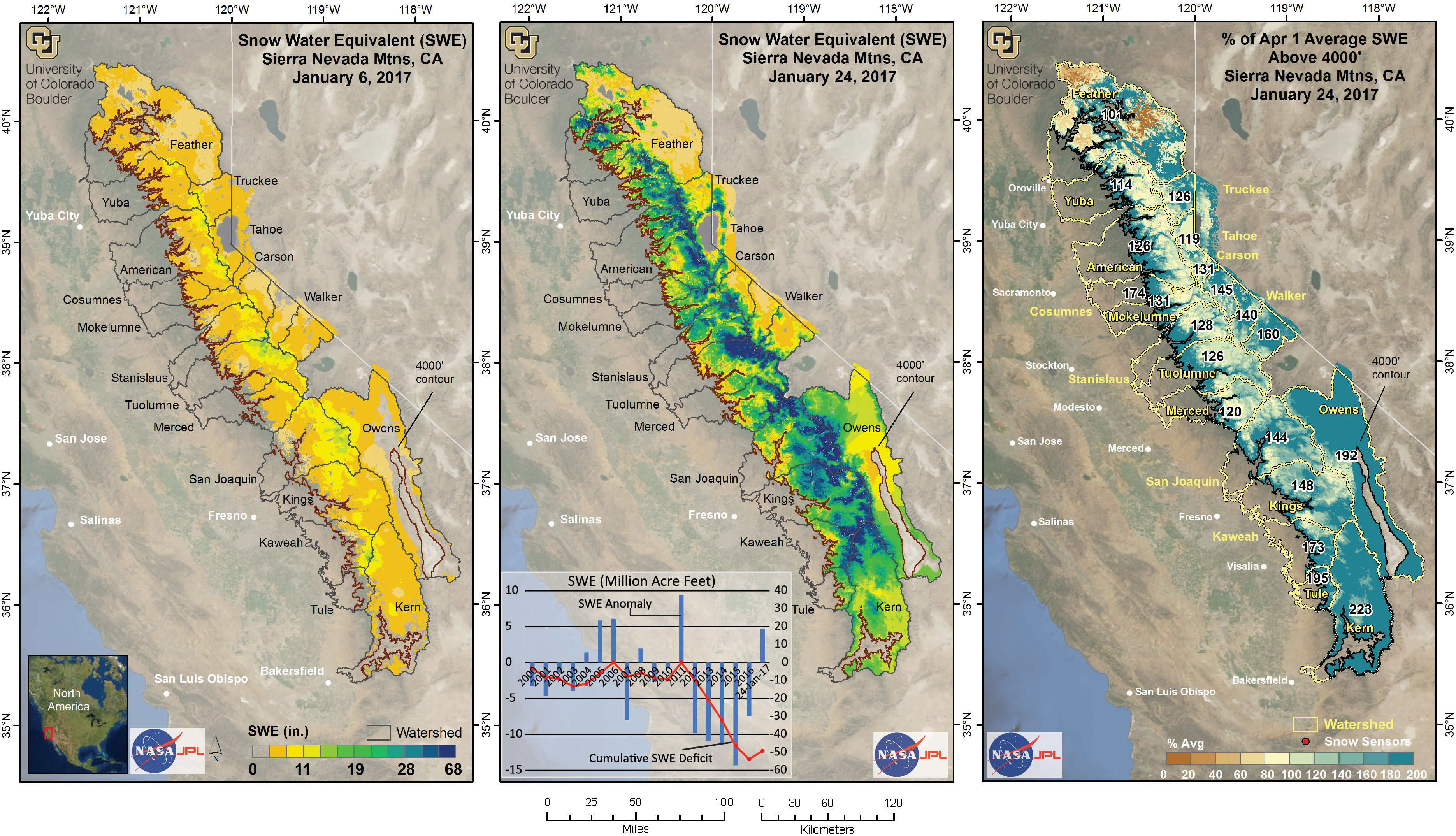 Storms Filled 37 Percent Of Ca Snow Water Deficit Yubanet