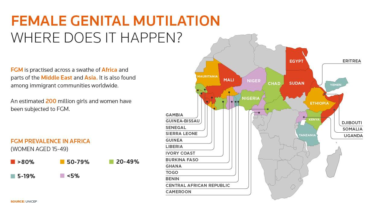 study into the prevalence of fgm in nigeria Prevalence and predictors of female genital mutilation among on fgm in nigeria concerning its prevalence study population nigeria with an.