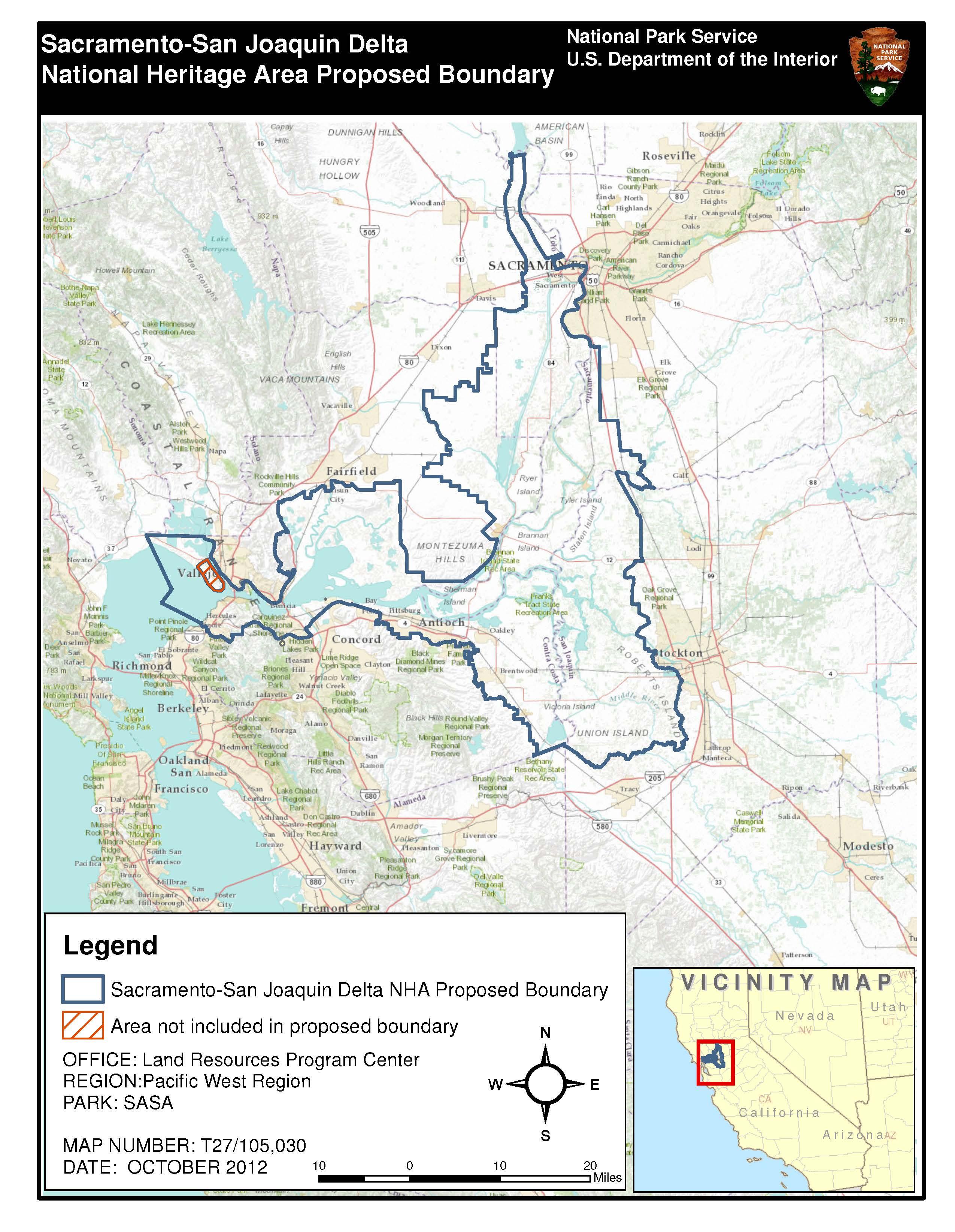 Feinstein Harris Reintroduce Bill To Establish SacramentoSan - San joaquin on map of us
