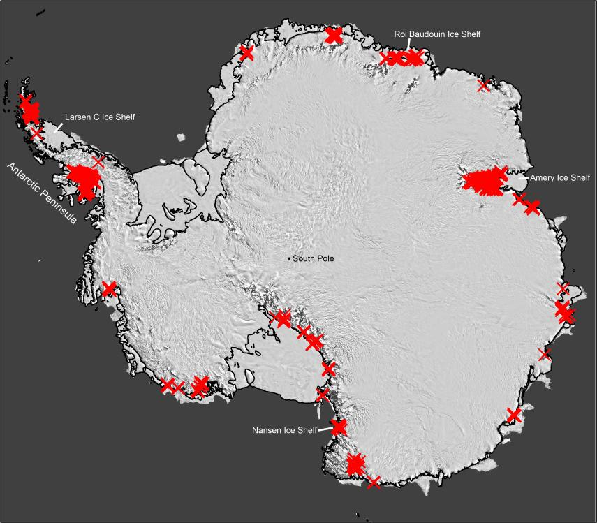 Antarctic ice melting much faster than previously believed