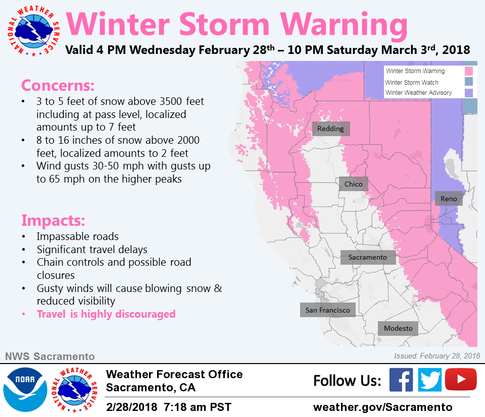 Winter Storm Warning Bring It On Says >> Winter Storm Warning From 4 Pm This Afternoon To 10 Pm Saturday
