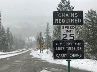 Be Prepared for Winter Driving This Week   YubaNet