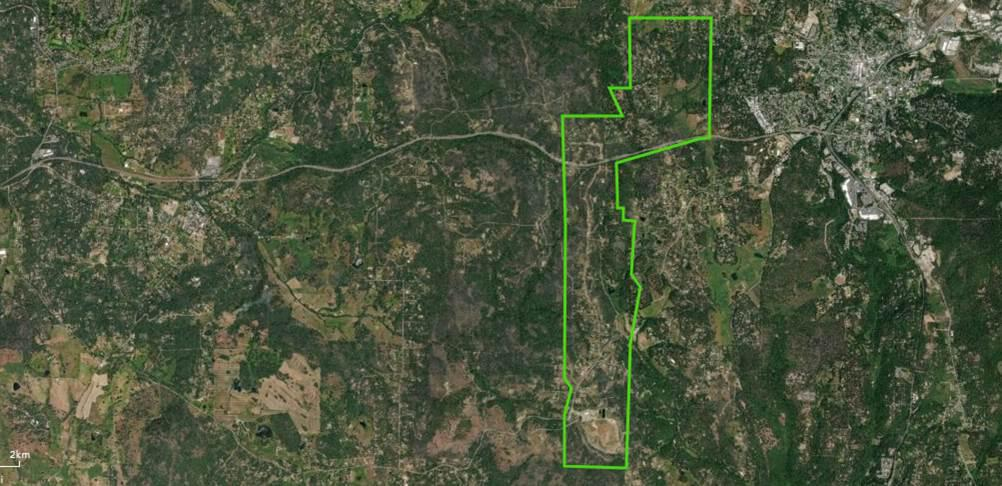 Ponderosa West Gr Valley Defense Zone Project in Nevada County ... on bonanza ranch nevada map, nevada ponderosa ranch map, idaho craters of the moon map,