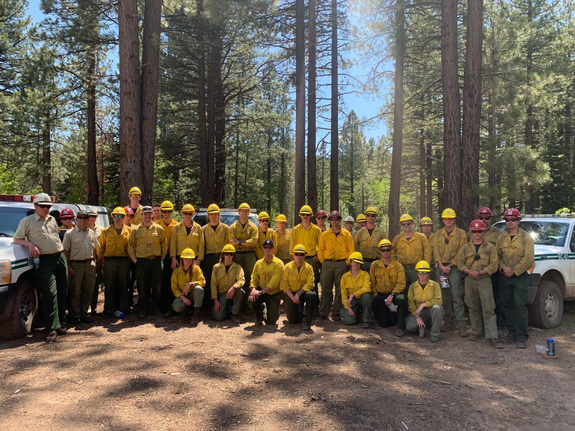 U S  Forest Service Firefighters – Ready For Wildfire | YubaNet